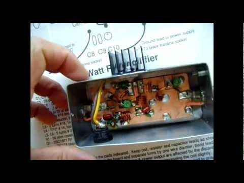 6W RF Amplifier (85-110mhz)