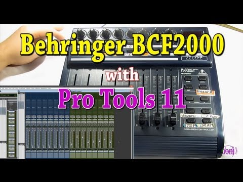 Behringer BCF2000 Control Surface w/Pro Tools