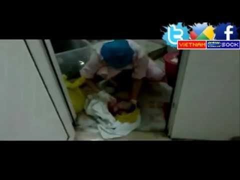 Sock Y tá Trung Quốc vứt bé sơ sinh còn sống