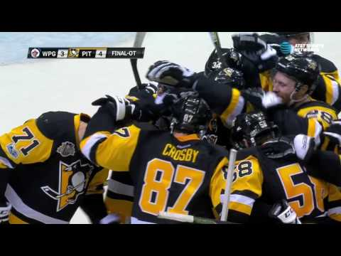 Video: Crosby and Malkin with a beautiful play to end exciting OT