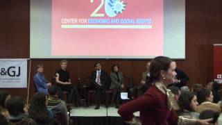 CHRGJ And CESR Present: Twenty Years Of Economic And Social Rights Advocacy