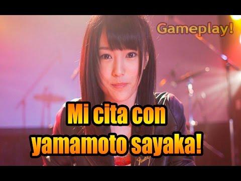 Mi cita con Yamamoto Sayaka! (видео)