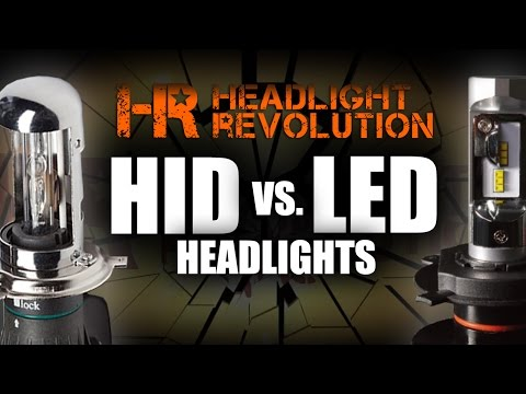 HID Vs. LED Headlights, Pros And Cons Of Each | Headlight Revolution