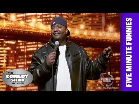 Aries SpearsLearn How to Speak F***ing English!Shaq's Five Minute FunniesComedy Shaq