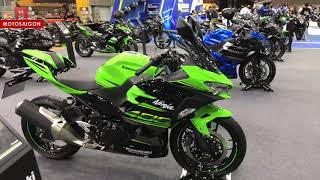 8. Kawasaki Ninja 400 ZX-10R SE KLX 2019 màu mới
