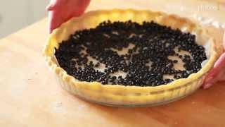 Cuire une pâte à blanc pour un fond de tarte