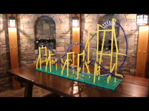 Special Edition Scorpion Roller Coaster Model