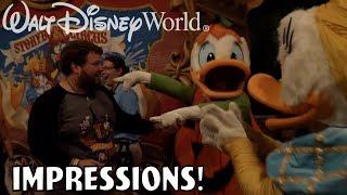 Video I'VE NEVER SEEN DONALD HAPPIER!! - Disney World Impressions Halloween MP3, 3GP, MP4, WEBM, AVI, FLV Oktober 2018