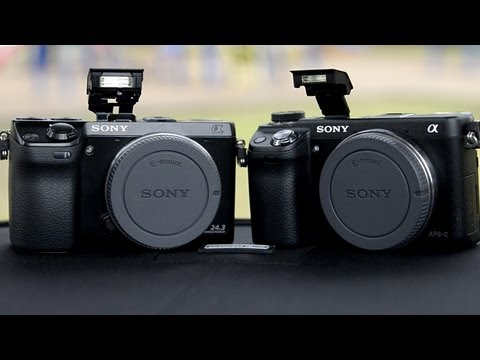 Sony NEX 6 vs Sony NEX 7 Hands On Comparison