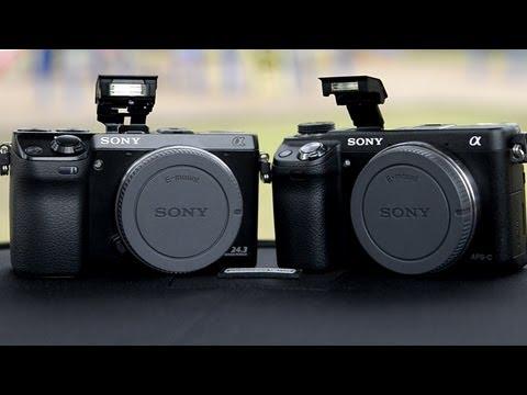 Sony NEX 6 vs Sony NEX 7 Hands On Comparison