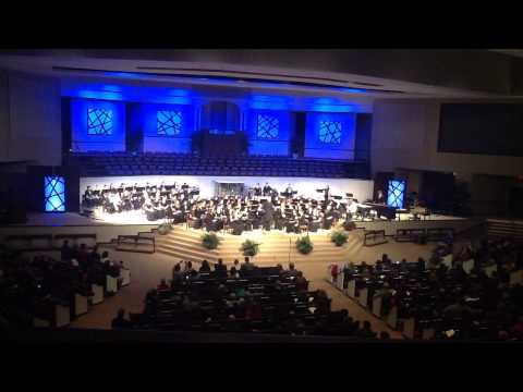 Williamson County High School Honor Band plays