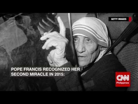 The miracles and canonization of Mother Teresa