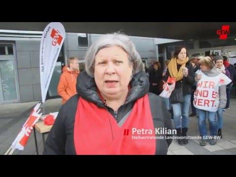 Die Streikwelle rollt weiter – auch in Stuttgart