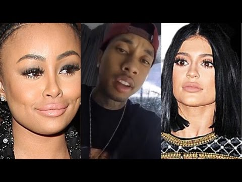 "Tyga BLASTS Blac Chyna After She Calls Kylie Jenner A BITCH For ""Stealing"" Her Cooking Show Idea!!"