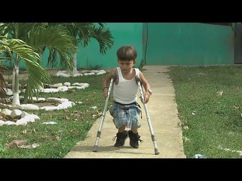 La historia de un niño hondureño que llegó hasta la presindecia