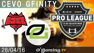 HellRaisers vs OpTic Gaming - CEVO Gfinity Pro-League S9 Finals - Groupe A