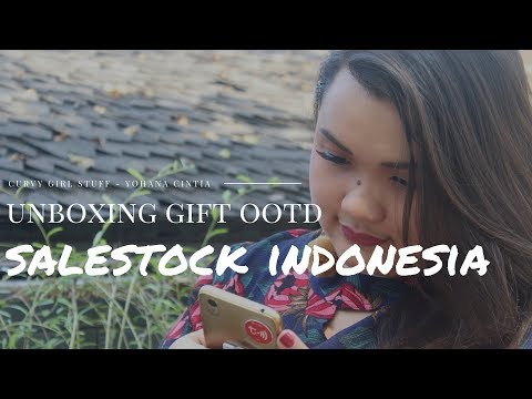 UNBOXING VIDEO : Winner Weekly Contest OOTD Belanja Puas SaleStock Indonesia!!
