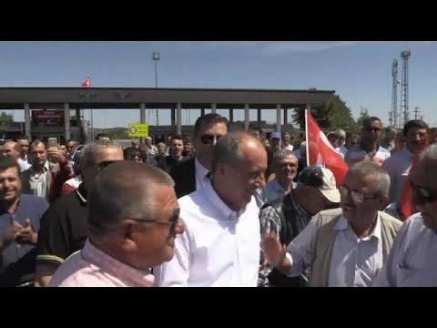 Erdogan-Herausforderer Muharrem Ince auf Wahlkampftou ...