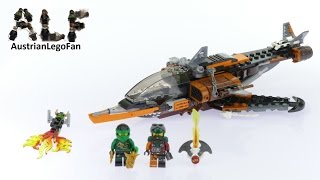 Lego Ninjago 70601 Sky Shark - Lego Speed Build Review