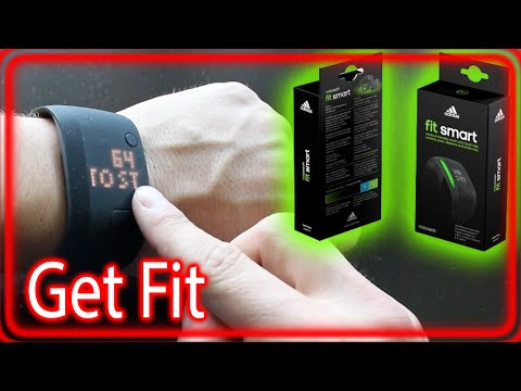 Adidas fit smart - Fitness Tracker Band (micoach)