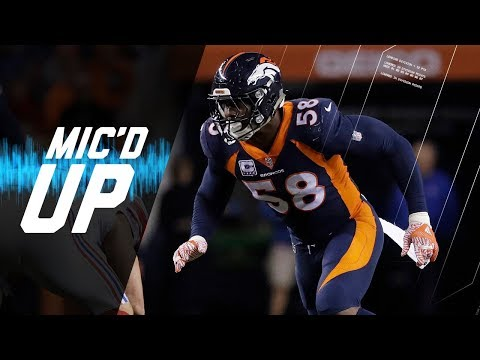 Video: Von Miller Mic'd Up vs. Giants
