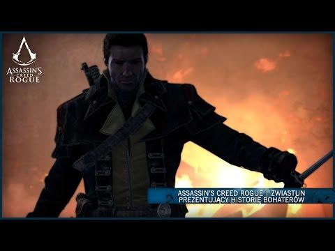 Dowiedz się jak Shay został Templariuszem i zdecydował się skierować ostrze przeciw dawnym braciom w grze Assassin's Creed Rogue. Idź jego ścieżką i podważaj wiarę w Bractwo.  dostępna 13 listopada wyłącznie na Xbox 360 i PS3.  więcej na http://www.assass