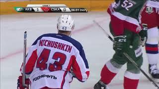 Ничушкин подставляет под бросок Петрова