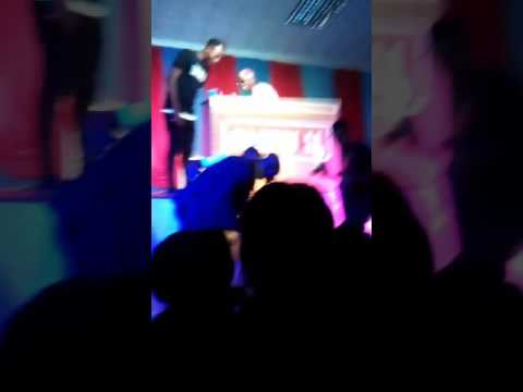 See What happened at DJ Spinall's performance