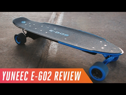 Yuneec E-Go2: A $699 Electric Skateboard With 18-mile Range