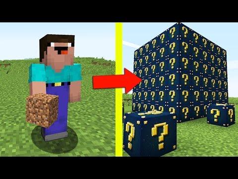 НУБ ПРОТИВ ЛАКИ БЛОКОВ В МАЙНКРАФТ 6 ! Мультик Майнкрафт Minecraft (видео)