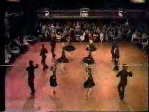 Scotland Latin Formation Team- Come Dancing 1980