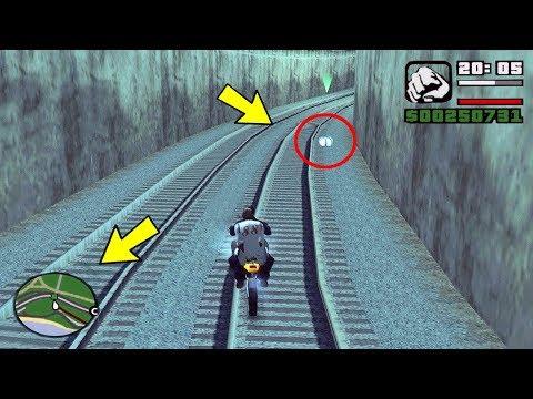 Эта штука.. её никто раньше не видел на миссии с поездом в GTA San Andreas!