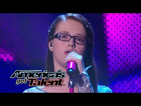 """Kelly Clarkson - Young girl with a soulful voice sings """"Breakaway"""" by Kelly Clarkson. See Mara Justine wow the crowd yet again! » Subscribe: http://full.sc/IlBBvK » Watch America's Got Talent Tuesdays..."""