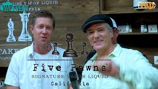 FIVE PAWNS : La célèbre marque Californienne est TPD ready !