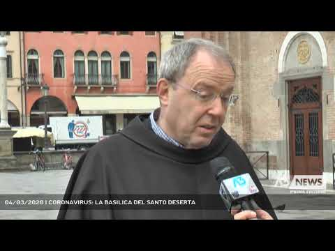 04/03/2020   CORONAVIRUS: LA BASILICA DEL SANTO DESERTA