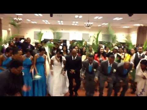 Eritrean mezmur wedding of Ermias and Aster.