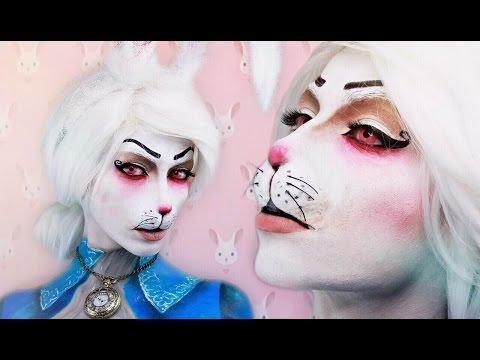 WHITE RABBIT ALICE IN WONDERLAND - Makeup Tutorial