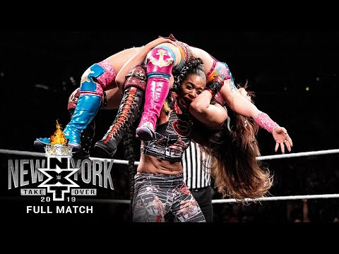 FULL MATCH: Baszler vs. Belair vs. Shirai vs. Sane – NXT Women's Title Match: NXT TakeOver: New York