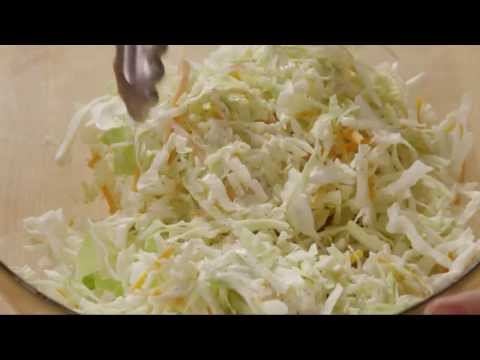Salad Recipe – How to Make Restaurant Style Coleslaw