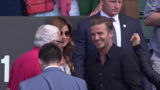 David Beckham, Mirka Federer and Robert Federer discuss Roger's win against Cilic SUBSCRIBE to The Wimbledon YouTube ...