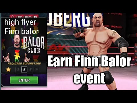 WWE MAYHEM - HIGH FLYER FINN BALOR EVENT - GAMEPLAY