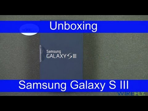 Samsung Galaxy S III for Sprint Smartphone Unboxing Review