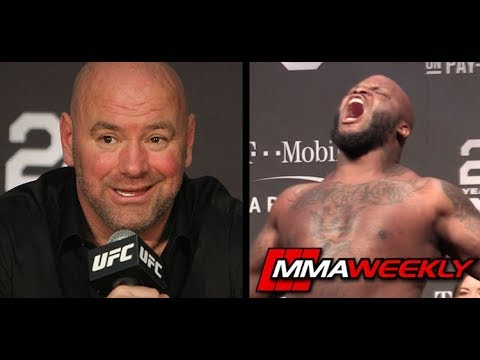 Dana White Reacts to Derrick Lewis Dropping HIs Shorts in Octagon (UFC 229)