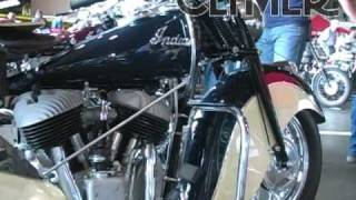 9. Clymer Manuals 1947 Indian Chief Classic Vintage Motorycle Maintenance Repair Shop Manual Video