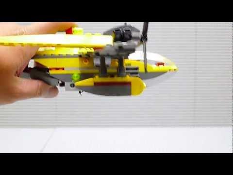 Vidéo LEGO Dino 5888 : L'intercepteur de l'océan