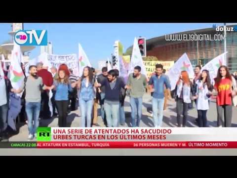 Cronología del terror: una serie de atentados sacude Turquía