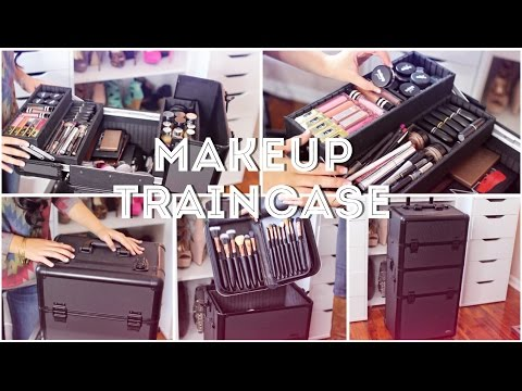 ♡My Freelance Makeup Train Case♡