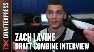 Zach LaVine Draft Combine Interview