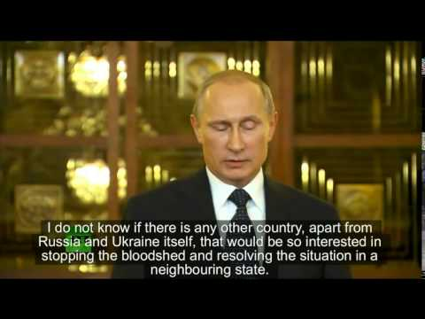 sanctions - Vladimir Putin on US Sanctions and Ukraine, right after his return from the South America Tour, July 2014 ENG SUBS Translation: Salah Hasan.