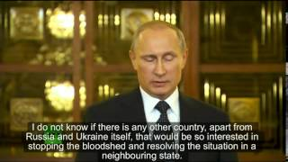 Vladimir Putin On US Sanctions And Ukraine